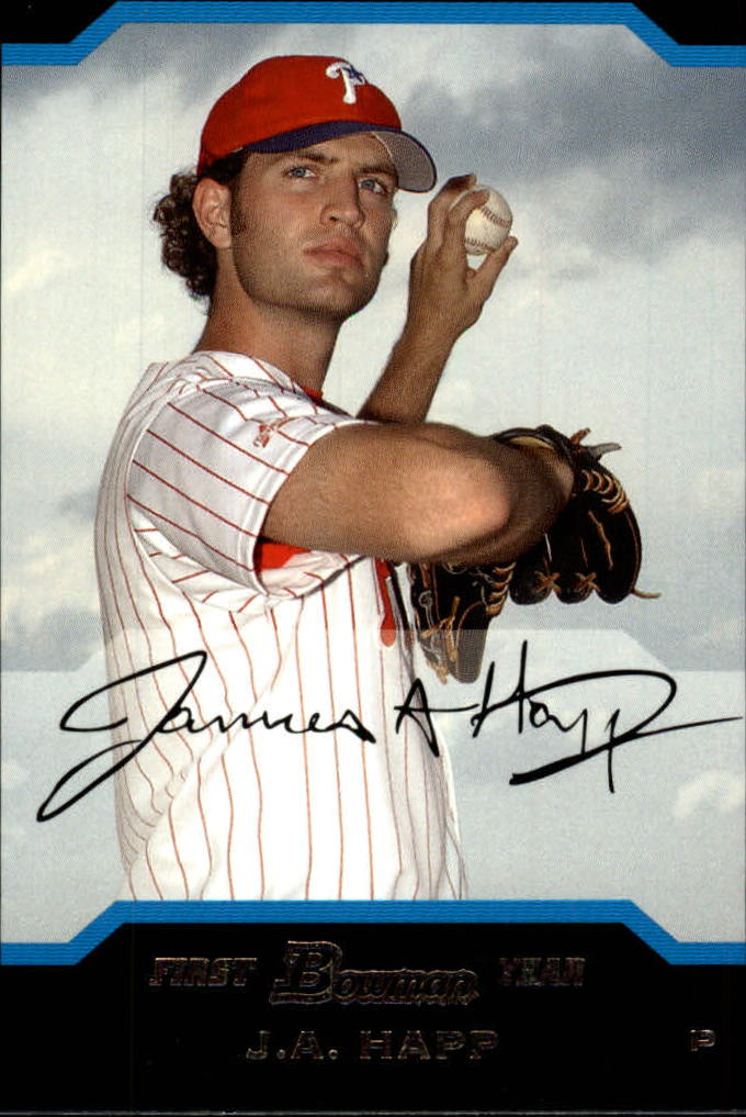 2004 Bowman Draft #77 J.A. Happ RC