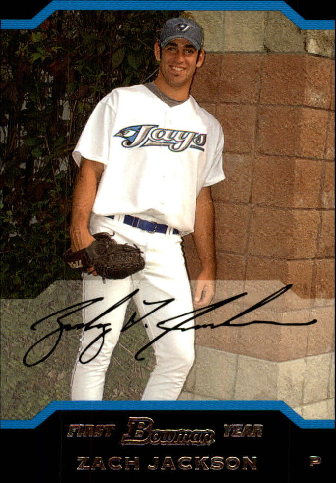 2004 Bowman Draft #109 Zach Jackson RC