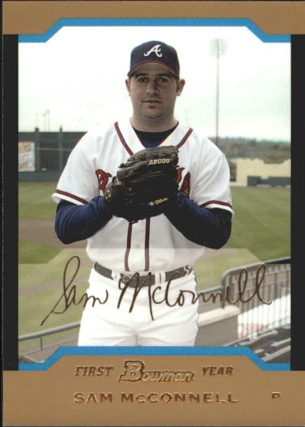 2004 Bowman Draft Gold #28 Sam McConnell