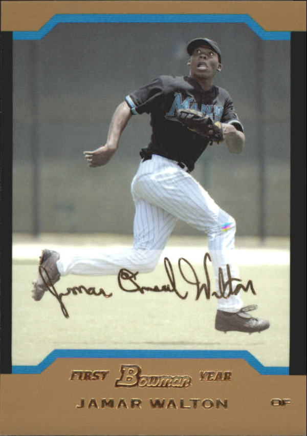 2004 Bowman Draft Gold #56 Jamar Walton