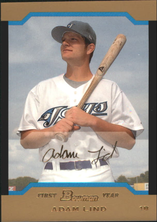 2004 Bowman Draft Gold #111 Adam Lind
