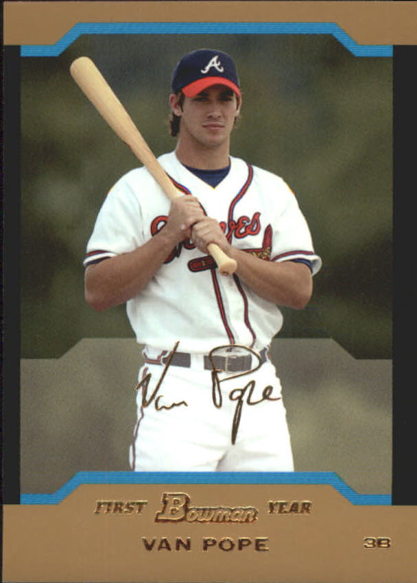 2004 Bowman Draft Gold #120 Van Pope