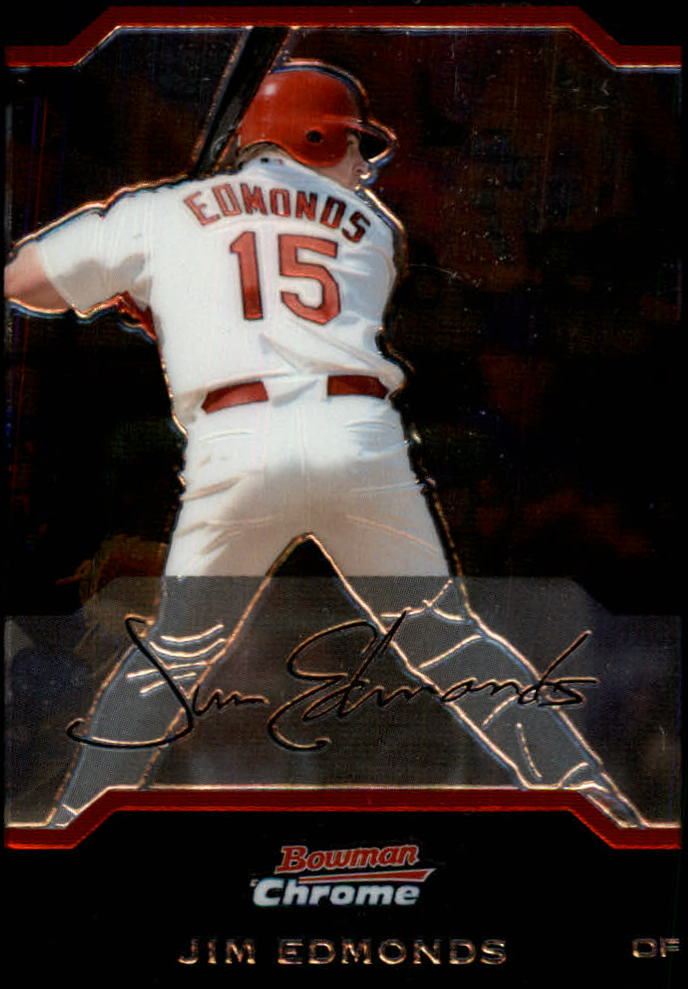 2004 Bowman Chrome #40 Jim Edmonds
