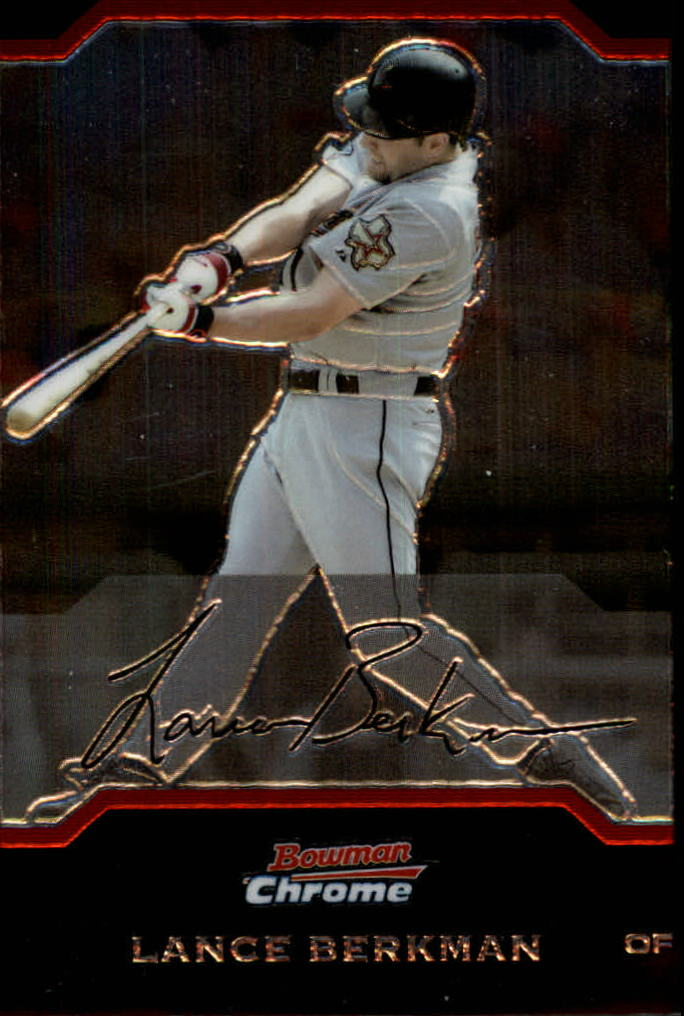 2004 Bowman Chrome #106 Lance Berkman