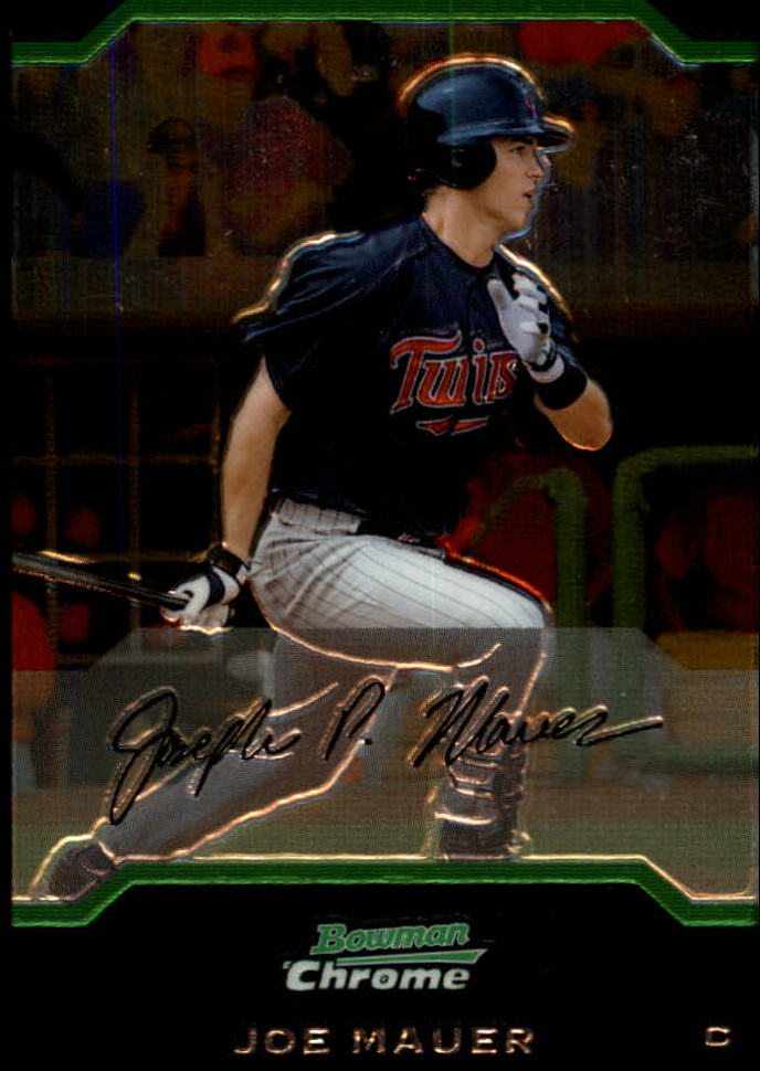 2004 Bowman Chrome #152 Joe Mauer