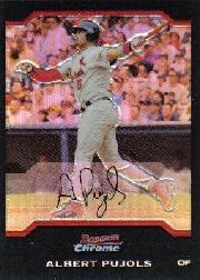 2004 Bowman Chrome Refractors #100 Albert Pujols