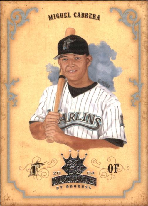 2004 Diamond Kings Silver #103 Miguel Cabrera