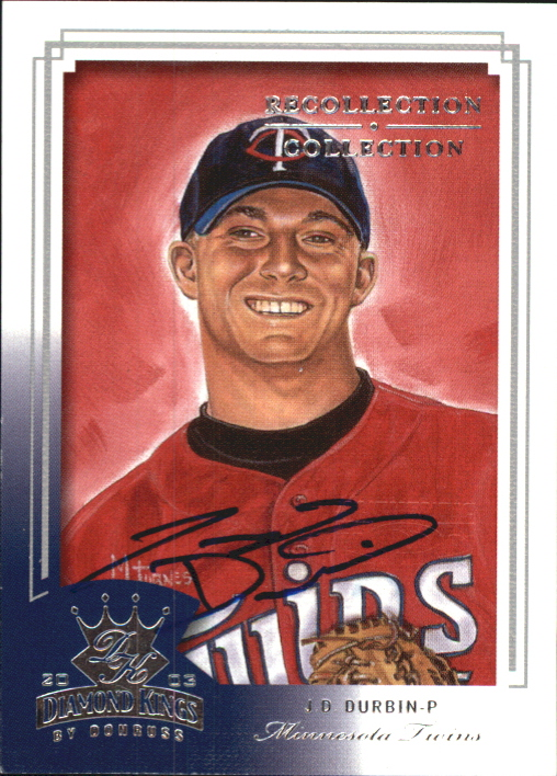 2004 Diamond Kings Recollection Autographs #26 J.D. Durbin 03 DK/151