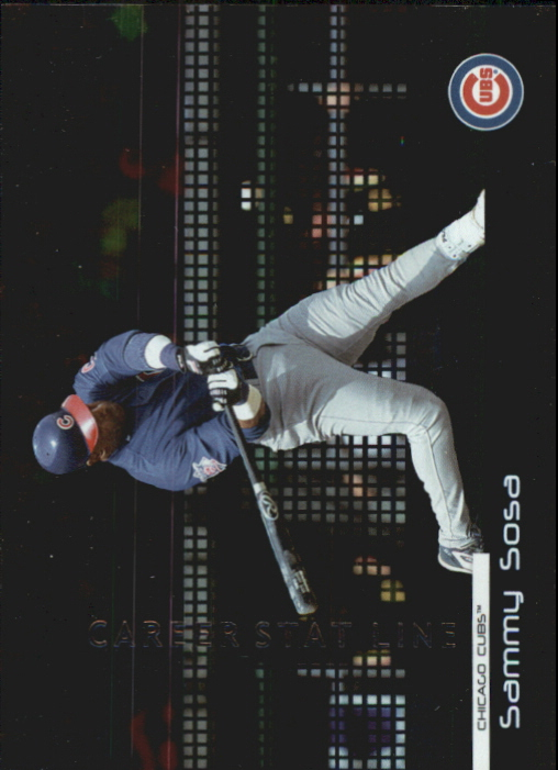 2004 Donruss Stat Line Career #244 Sammy Sosa/278