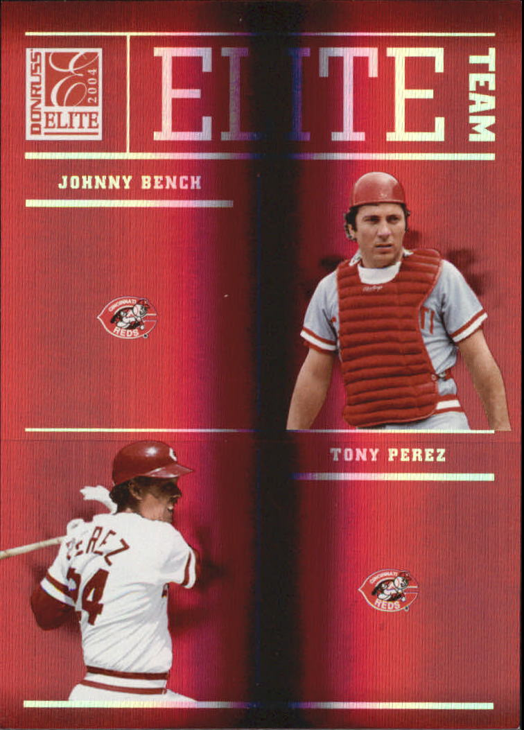 2004 Donruss Elite Team #3 Bench/Perez/Foster/Conc