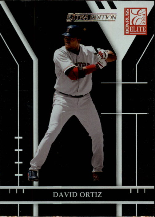 2004 Donruss Elite Extra Edition #14 David Ortiz
