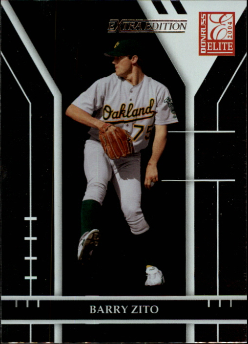 2004 Donruss Elite Extra Edition #54 Barry Zito