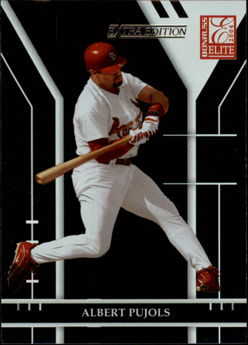 2004 Donruss Elite Extra Edition #143 Albert Pujols