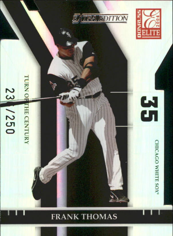 2004 Donruss Elite Extra Edition Turn of the Century #18 Frank Thomas