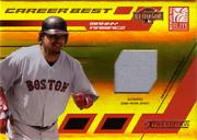 2004 Donruss Elite Extra Edition Career Best All-Stars Jersey #24 Manny Ramirez