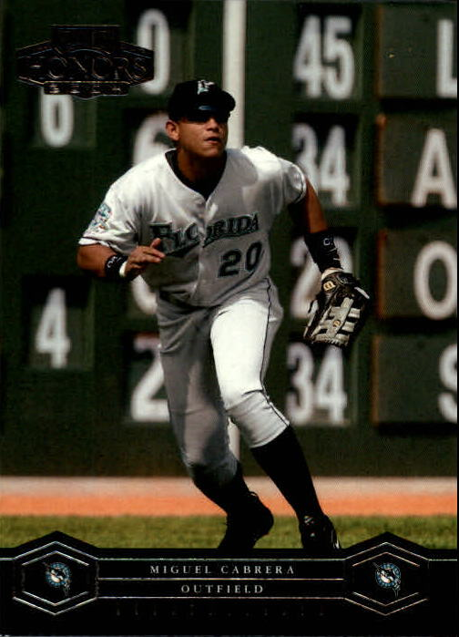 2004 Playoff Honors #83 Miguel Cabrera