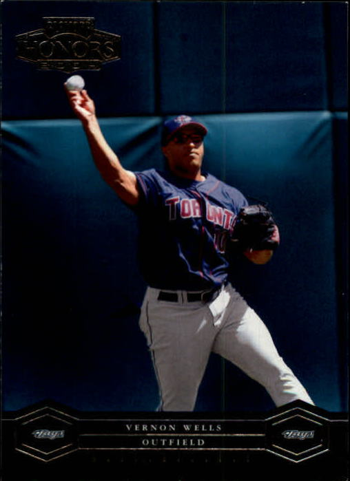 2004 Playoff Honors #199 Vernon Wells