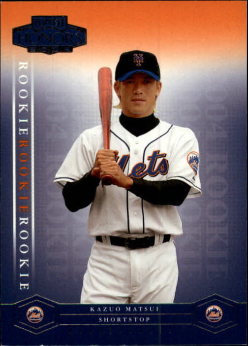 2004 Playoff Honors #202 Kazuo Matsui/1999 RC