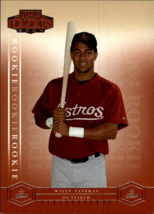 2004 Playoff Honors #217 Willy Taveras/1999 RC