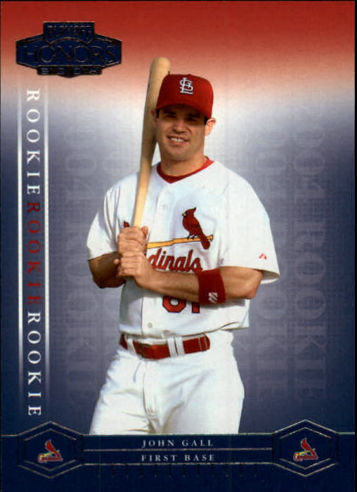 2004 Playoff Honors #218 John Gall/1999 RC