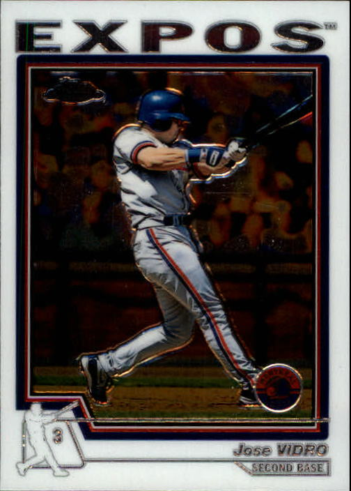 2004 Topps Chrome #90 Jose Vidro