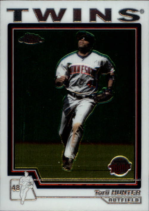 2004 Topps Chrome #372 Torii Hunter