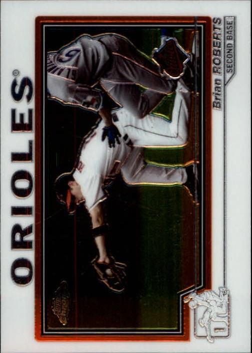 2004 Topps Chrome #432 Brian Roberts