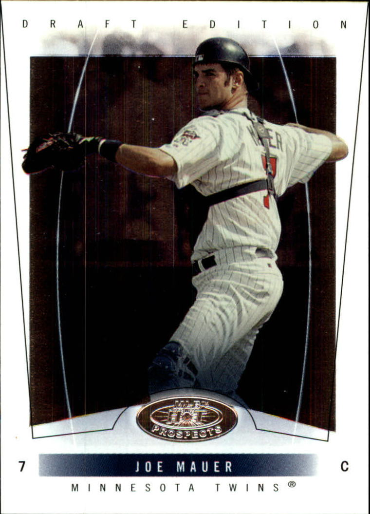 2004 Hot Prospects Draft #50 Joe Mauer