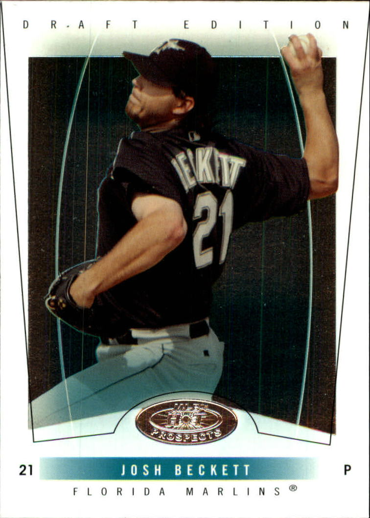 2004 Hot Prospects Draft #56 Josh Beckett