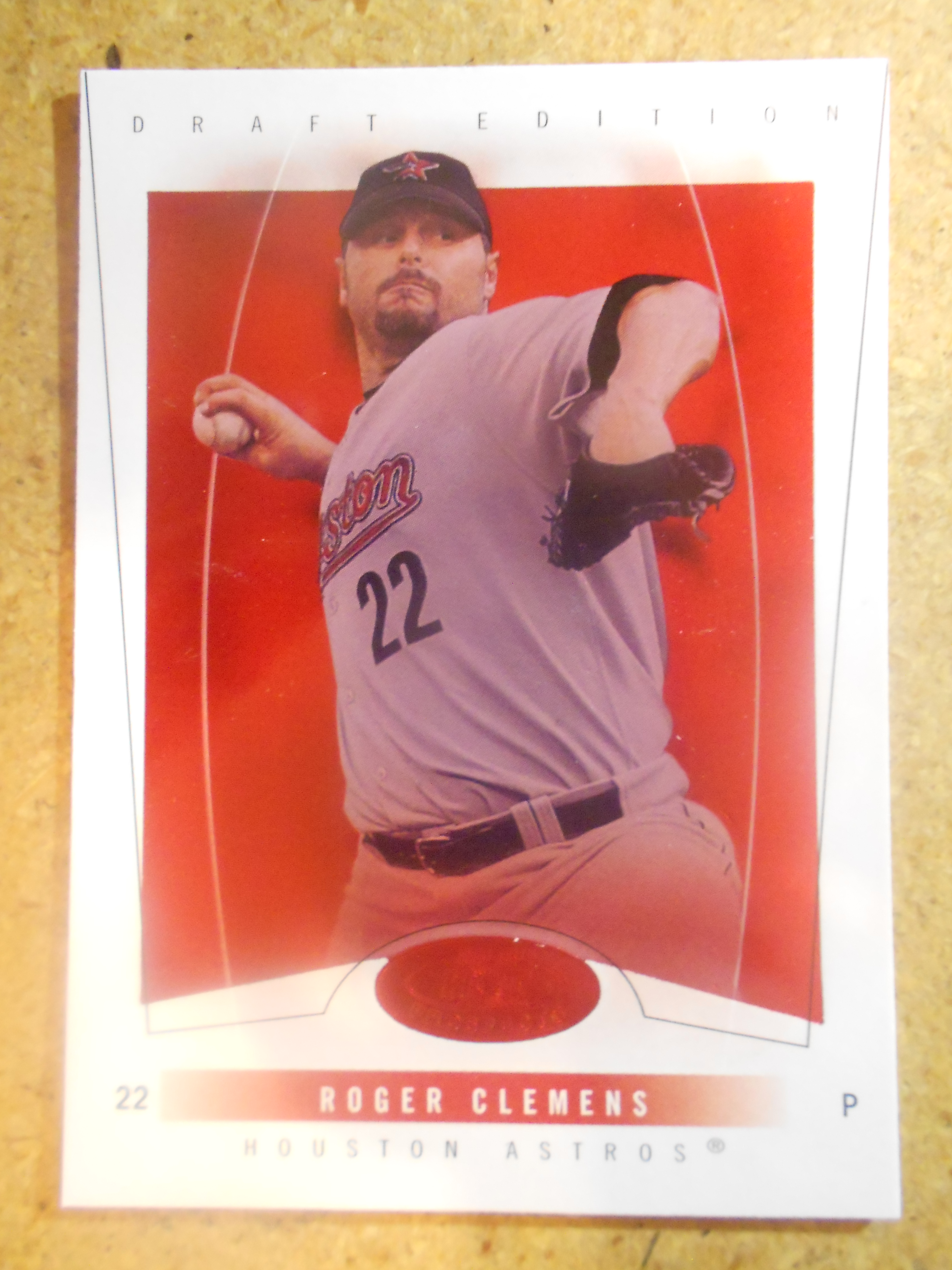 2004 Hot Prospects Draft Red Hot #4 Roger Clemens