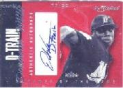 2004 Fleer InScribed Names of the Game Material Red #DW Dontrelle Willis Jsy