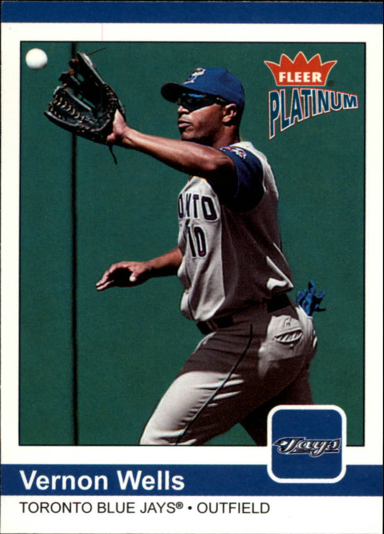 2004 Fleer Platinum #91 Vernon Wells