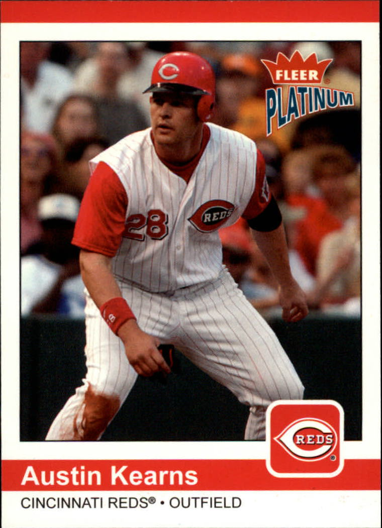 2004 Fleer Platinum #124 Austin Kearns