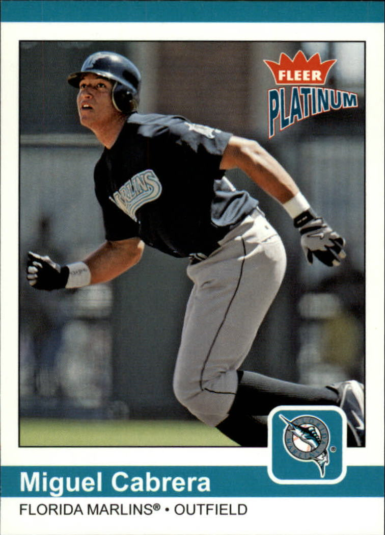 2004 Fleer Platinum #140 Miguel Cabrera WE