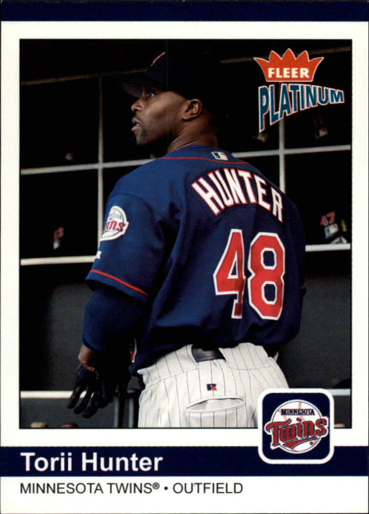 2004 Fleer Platinum #147 Torii Hunter JE