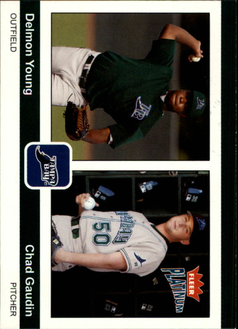 2004 Fleer Platinum #183 D.Young/C.Gaudin