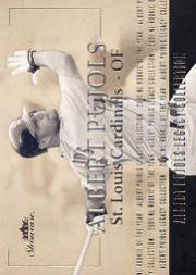 2004 Fleer Showcase Pujols Legacy Collection #2 Albert Pujols 01 ROY