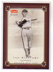 2004 Greats of the Game #15 Ted Williams
