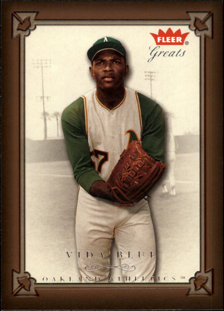 2004 Greats of the Game #23 Vida Blue