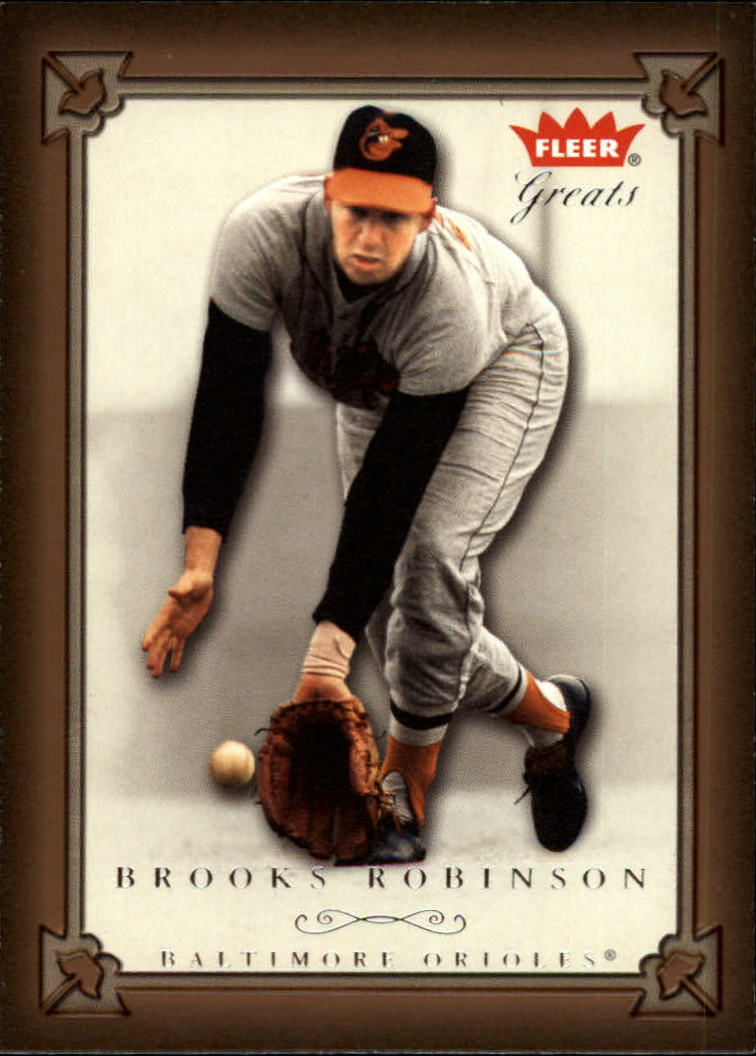 2004 Greats of the Game #32 Brooks Robinson