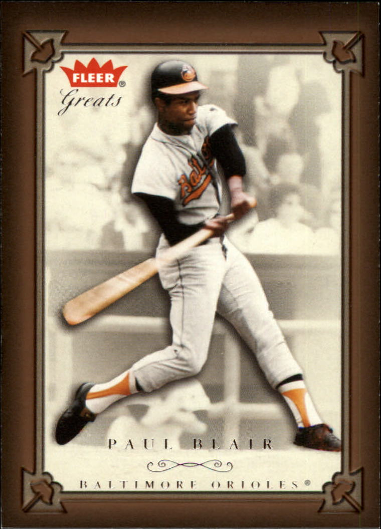 2004 Greats of the Game #41 Paul Blair