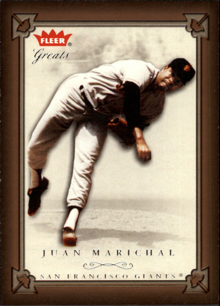 2004 Greats of the Game #47 Juan Marichal