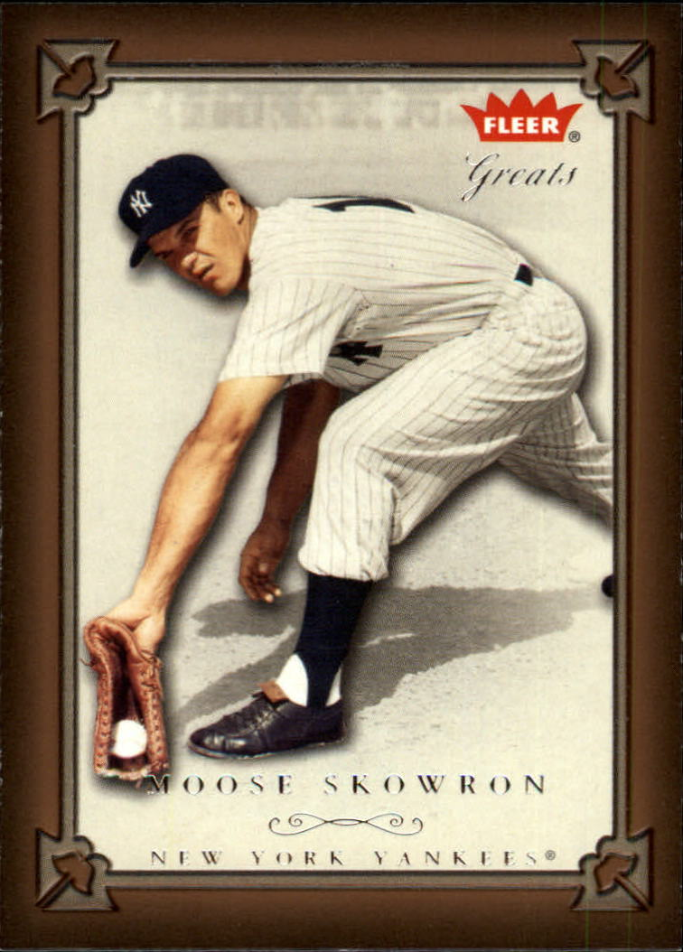 2004 Greats of the Game #49 Moose Skowron