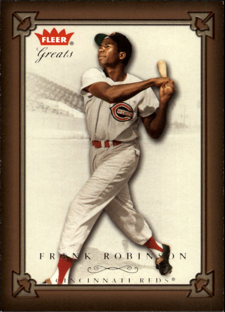 2004 Greats of the Game #53 Frank Robinson Reds