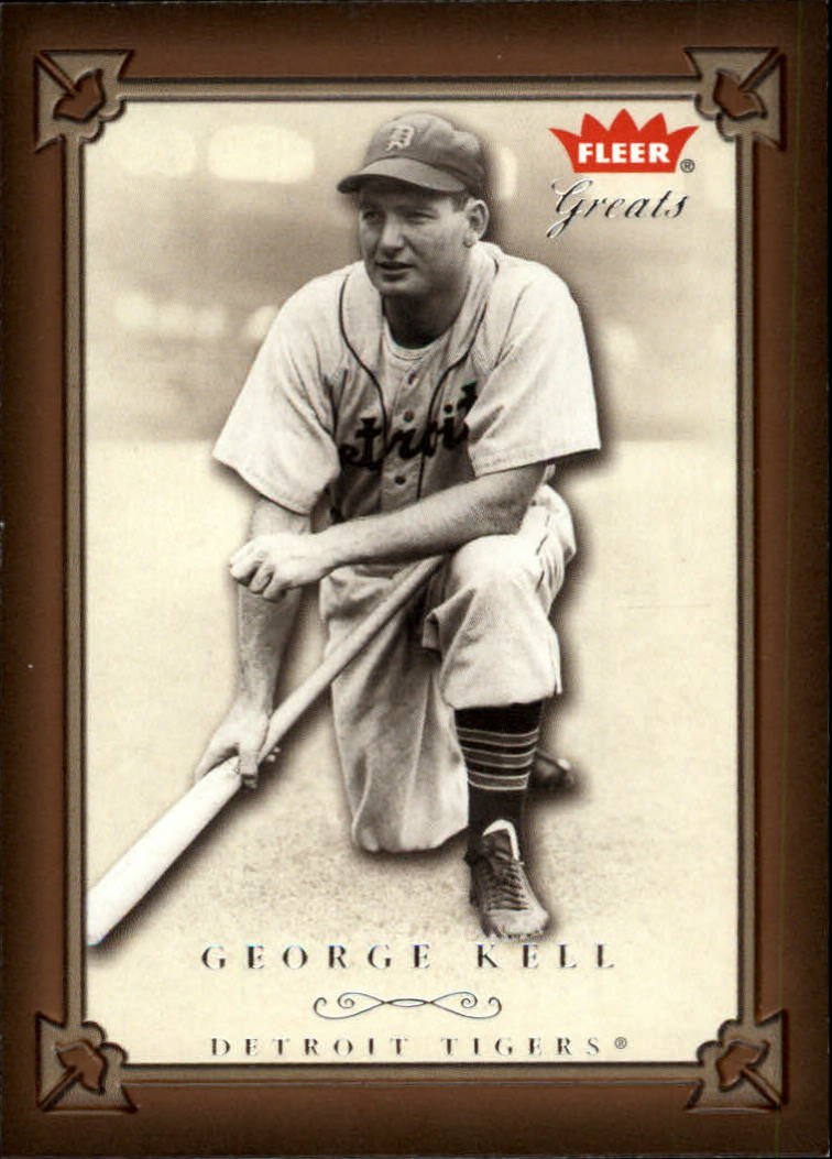 2004 Greats of the Game #64 George Kell front image