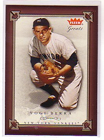2004 Greats of the Game #78 Yogi Berra