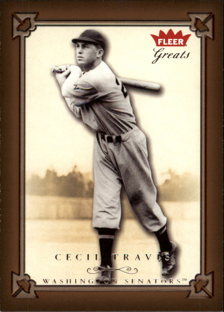 2004 Greats of the Game #98 Cecil Travis