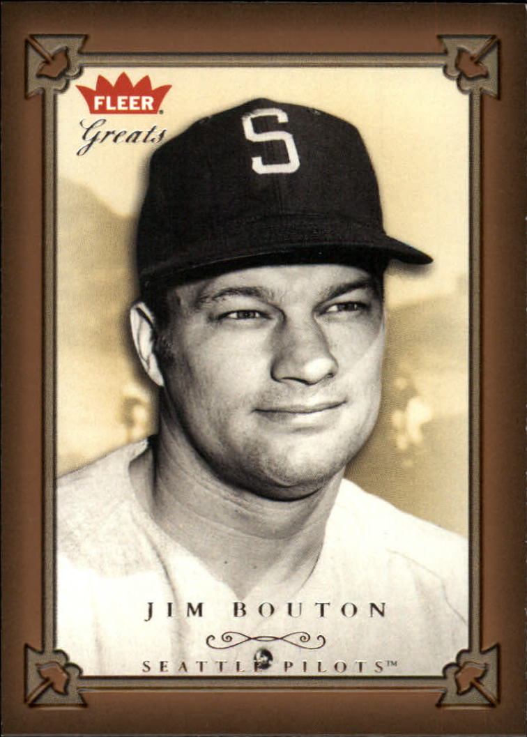 2004 Greats of the Game #115 Jim Bouton