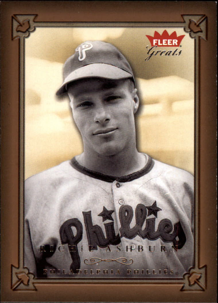 2004 Greats of the Game #118 Richie Ashburn