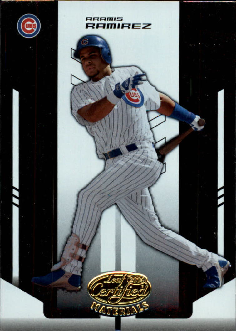 2004 Leaf Certified Materials #14 Aramis Ramirez